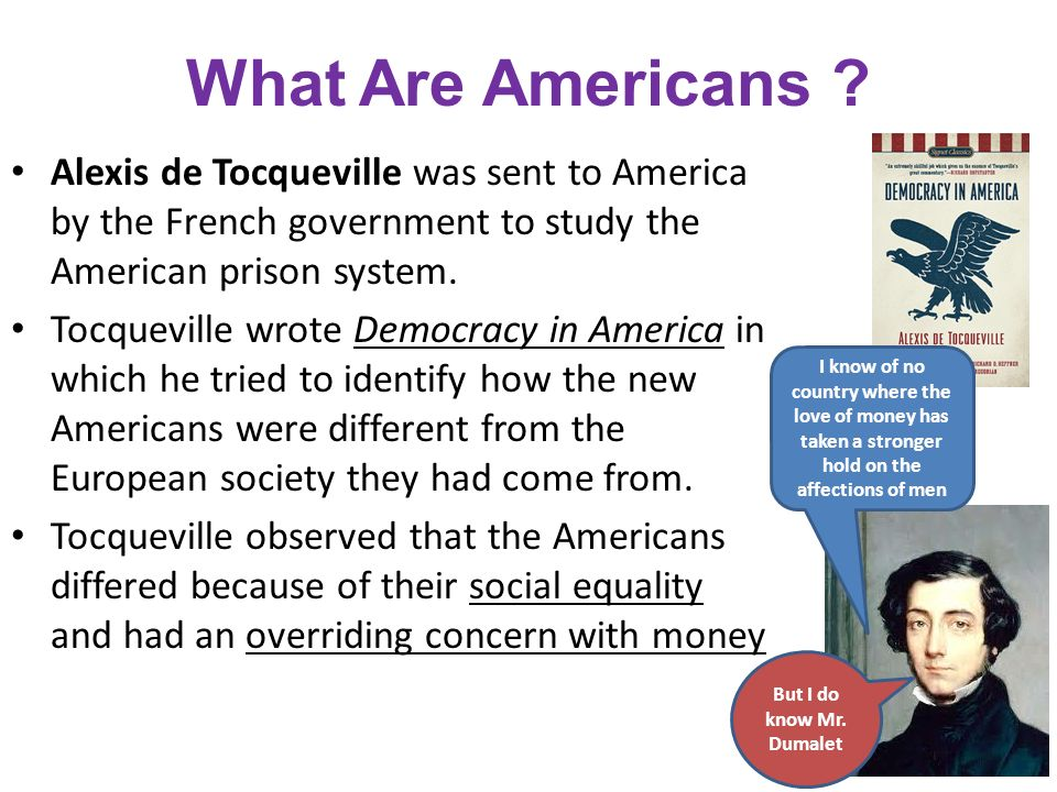 an analysis of the new age in democracy in america by alexis de tocqueville A contemporary study of the early american nation and its evolving democracy, from a french aristocrat and sociologist in 1831 alexis de tocqueville.