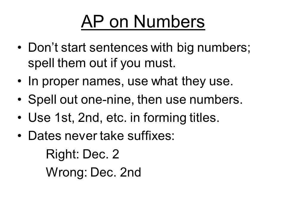 when to write out numbers in an essay When writers should spell out numbers and when they should use numerals   assuming that the following sentences were written for use in nontechnical.
