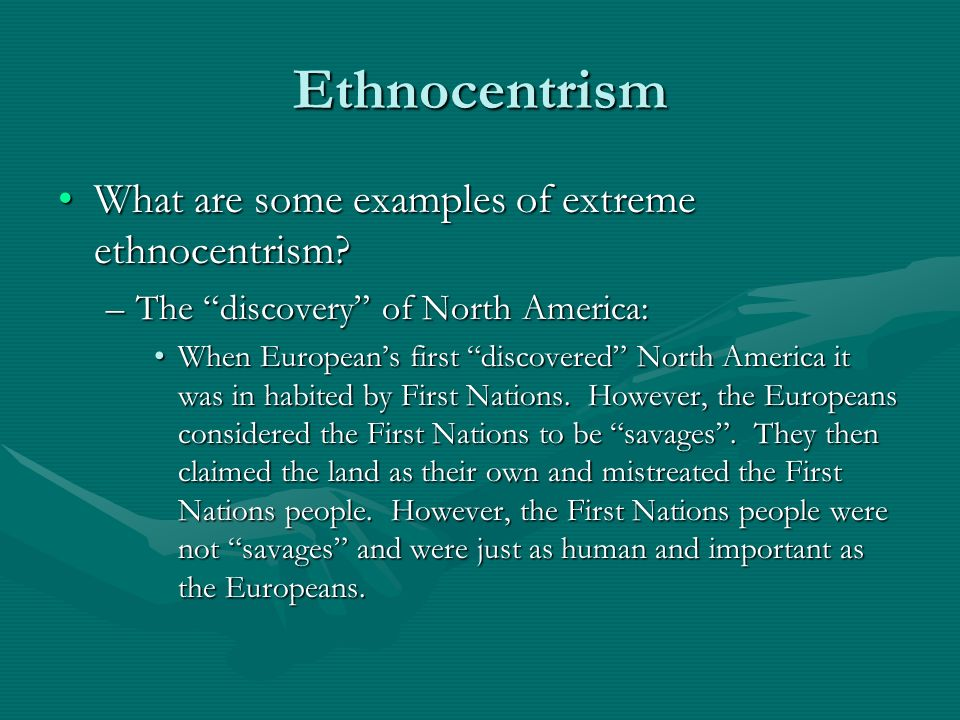 Ethnocentrism Examples Boatremyeaton