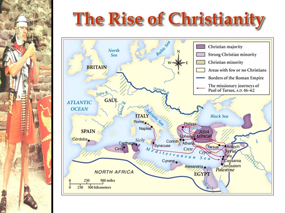 an introduction to the rise of christianity in the roman empire These periods coincide with some of the most prolific growth of christianity   whilst the roman emperor blamed the great fire of rome of 64 ad on the.