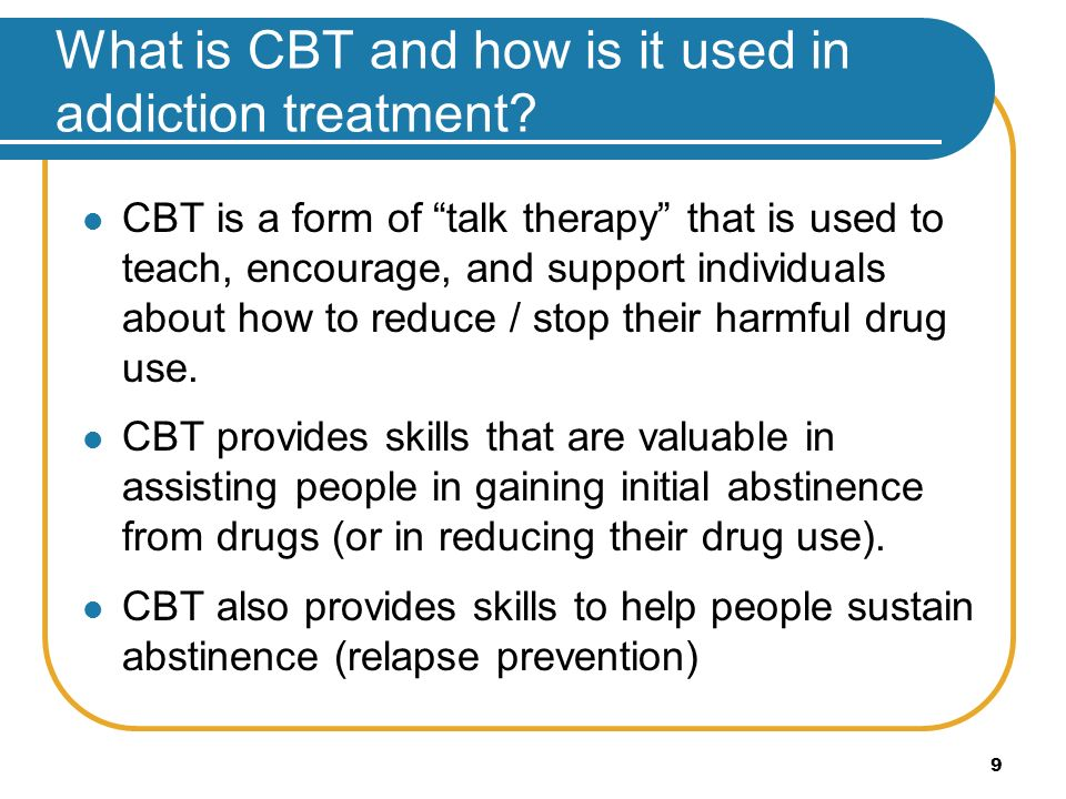 cognitive behavioural therapy and how it