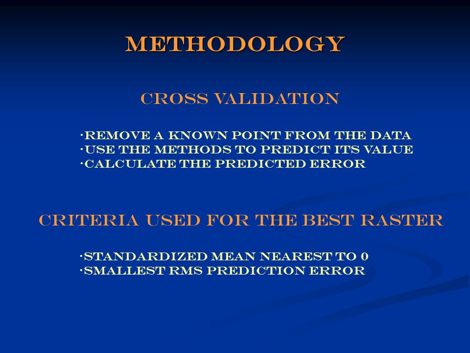 interpolation and evaluation of probable maximum precipitation  pmp  patterns using different