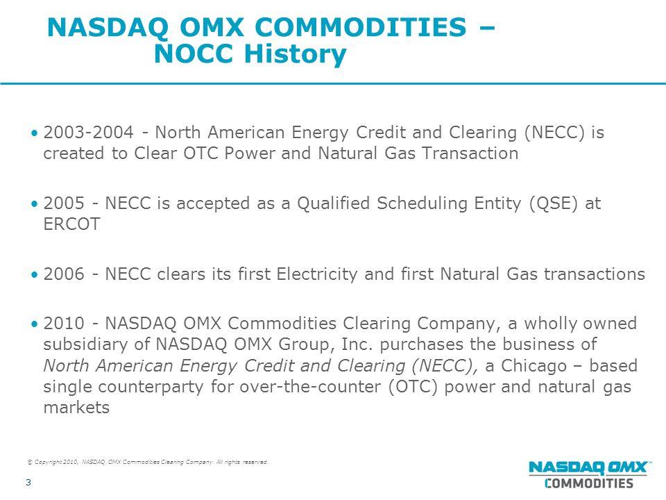 NASDAQ OMX Commodities ppt download – Natural Gas Scheduler