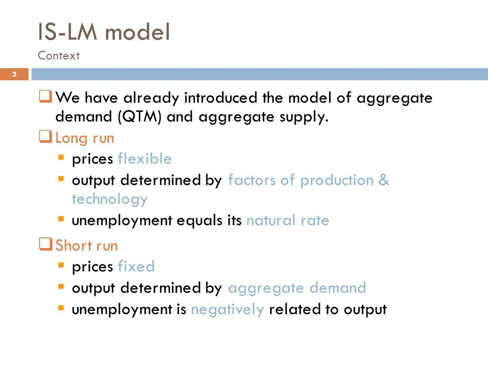 a market analysis using the aggregate supply and aggregate demand model of j m keynes I describe a multi-good model in which i interpret the definitions of aggregate demand and supply found in the general theory through the lens of a search theory of the labor market.