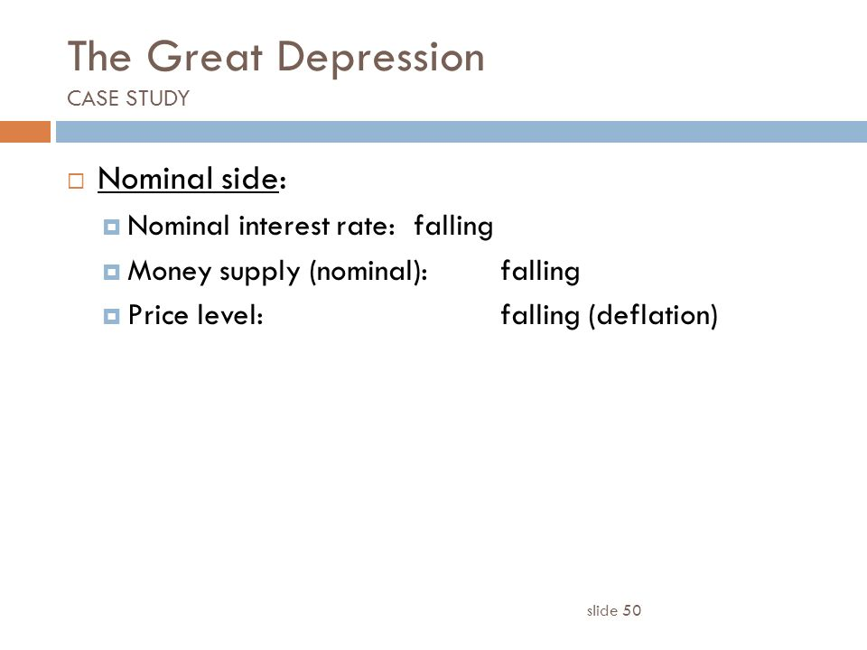 Casestudy US Financial Crisis is the Great Depression II in the     SlidePlayer