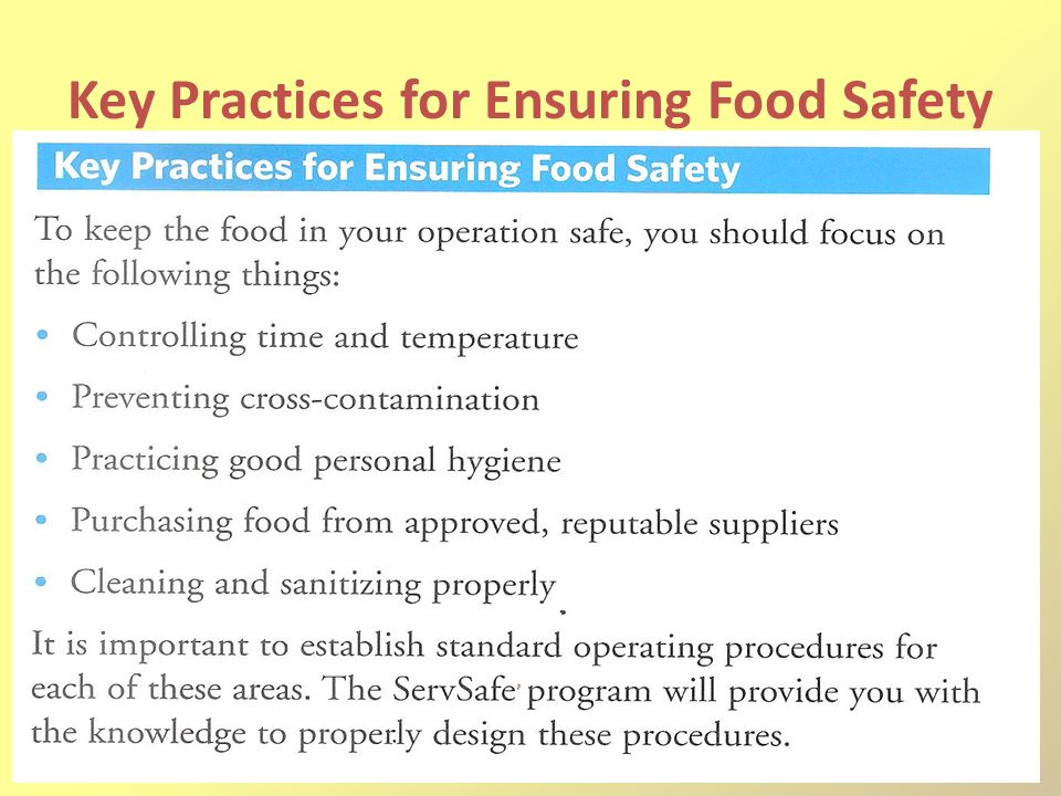 Why is food safety important presentation
