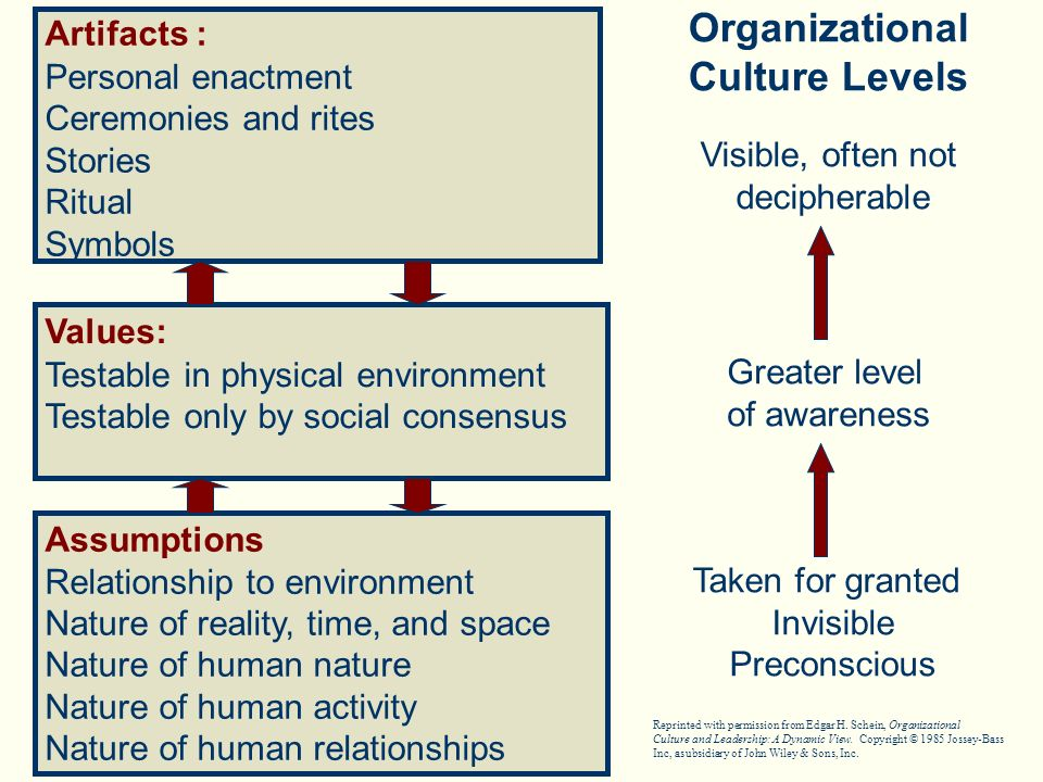 Relationship of downsizing to organizational culture