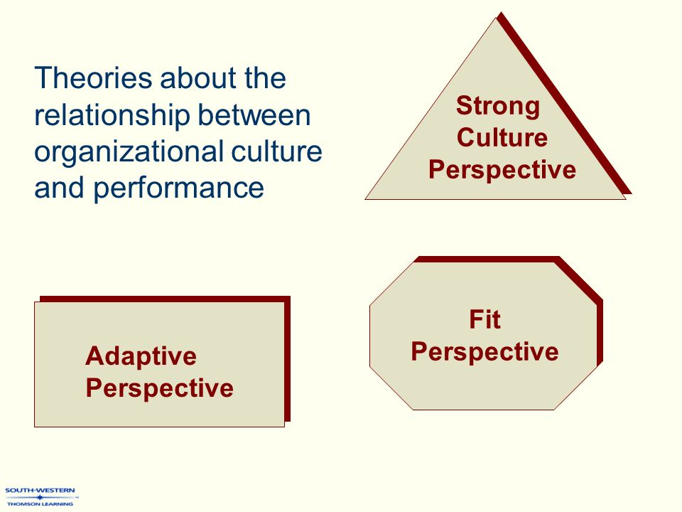 relationship between structure culture people and organisational performance