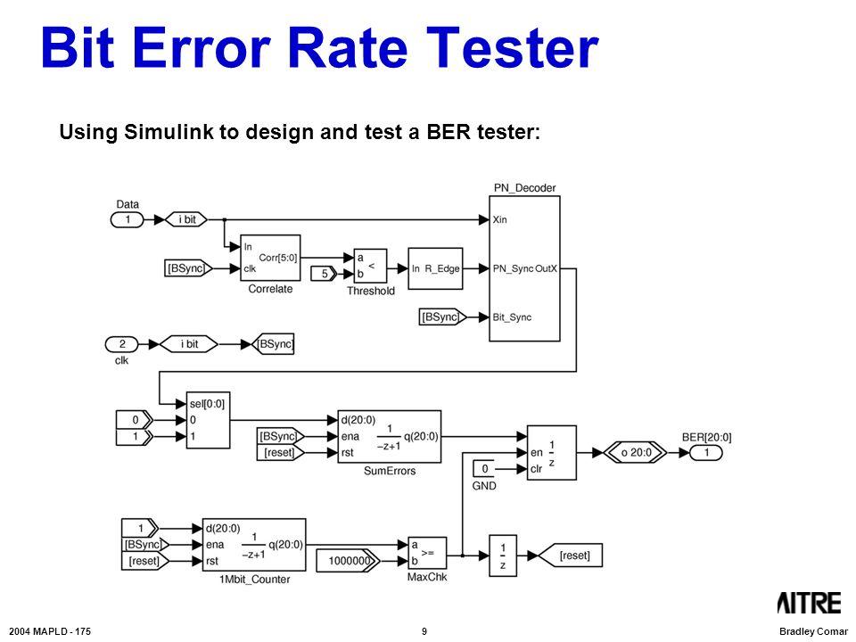 Bit error rate testing tutorial / shpromote2 tk