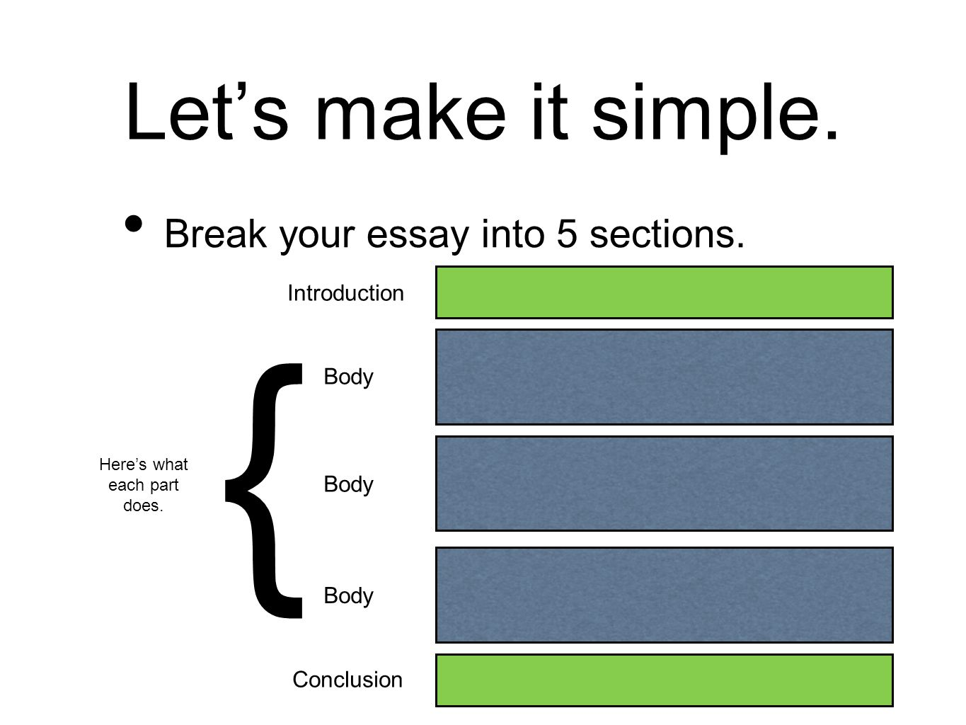 how to create a thesis statement ppt video online  7 here s
