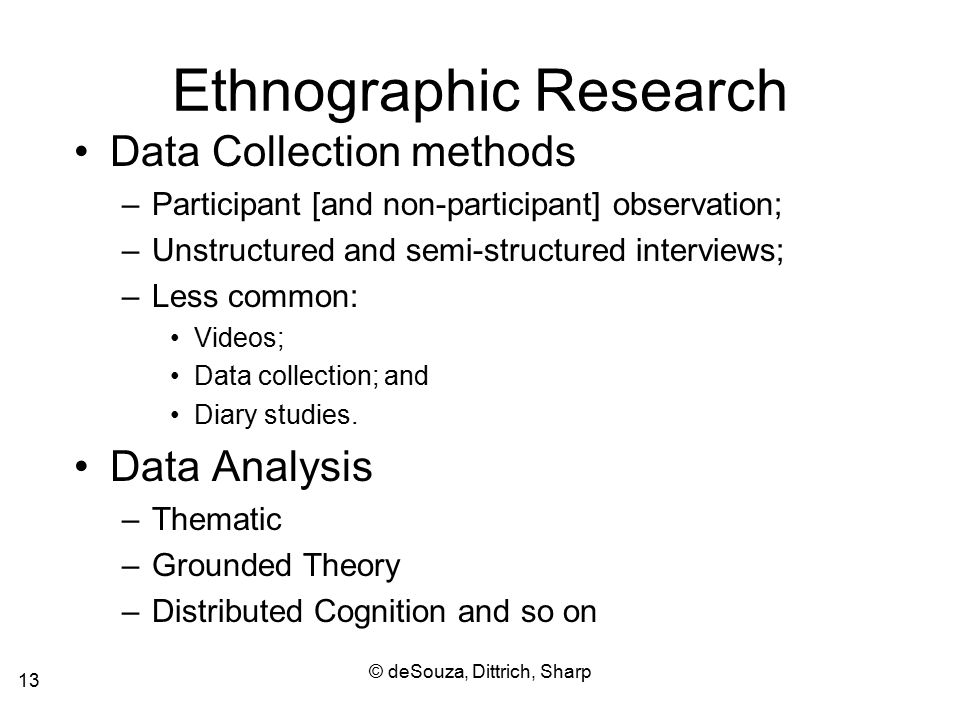 ethnography proposal