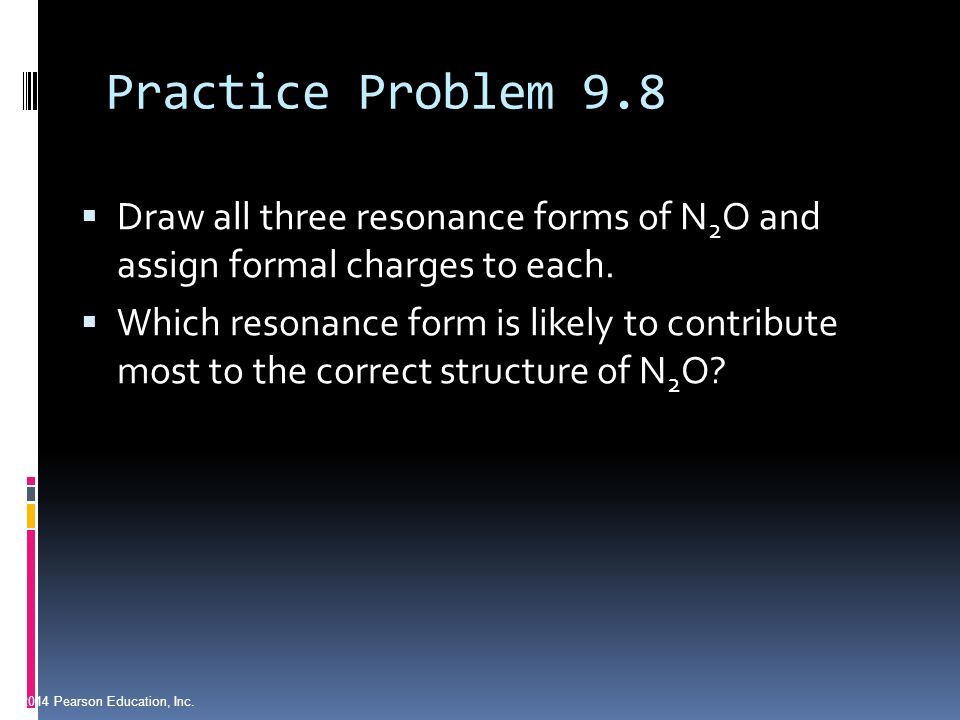 chapter 9 practice problems