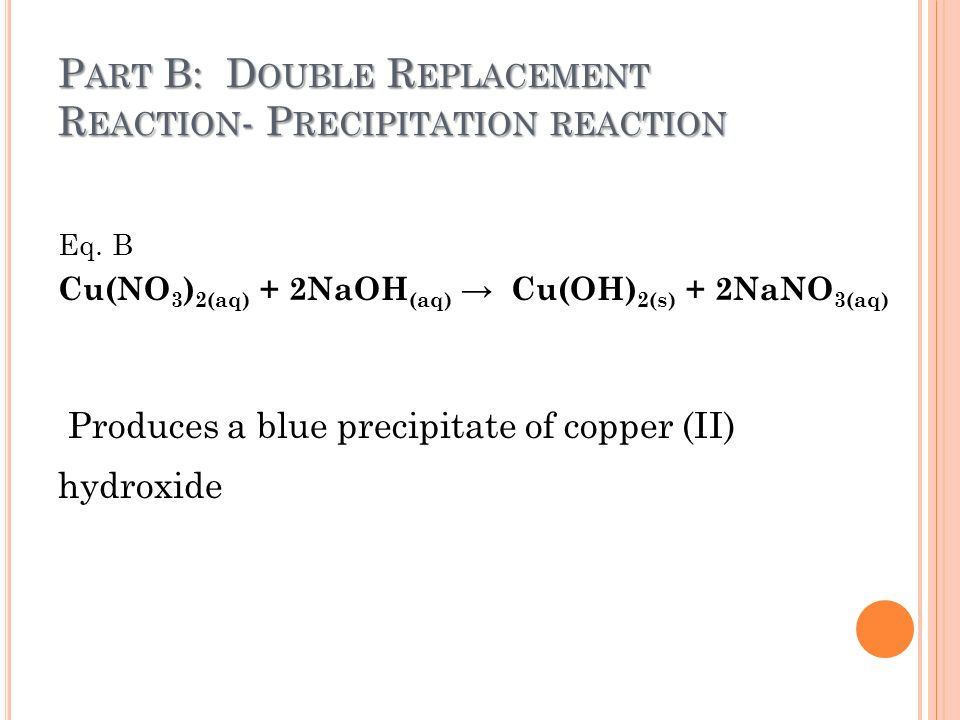 chemistry copper cu s 4hno3 aq cu no3 2 aq 2no2 g 2h2o l Copper is oxidized by concentrated nitric acid, hno3, to produce cu2+ ions the  nitric acid is  cu(s) + 4hno3(aq) -- cu(no3)2(aq) + 2no2(g) + 2h2o(l.