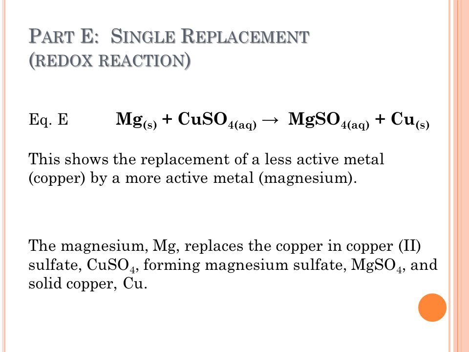 chemical reaction and copper sulfate Copper sulfate | cuso4 or cuo4s | cid 24462 - structure, chemical names,   copper catalyzes reactions that result in the production of hydroxyl radicals.