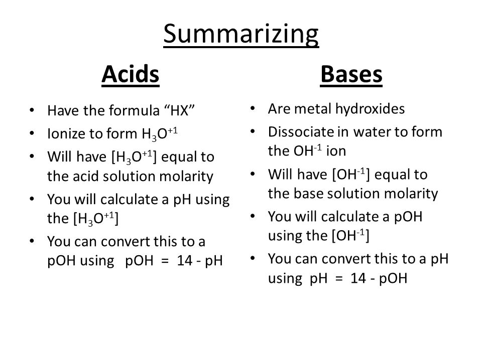 acids and bases ph and associated calculations ppt download. Black Bedroom Furniture Sets. Home Design Ideas