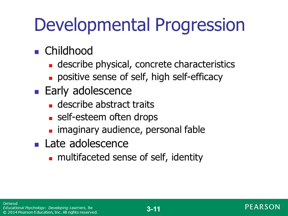 Early Childhood Emotional And Social Development: Identity And Self-Esteem