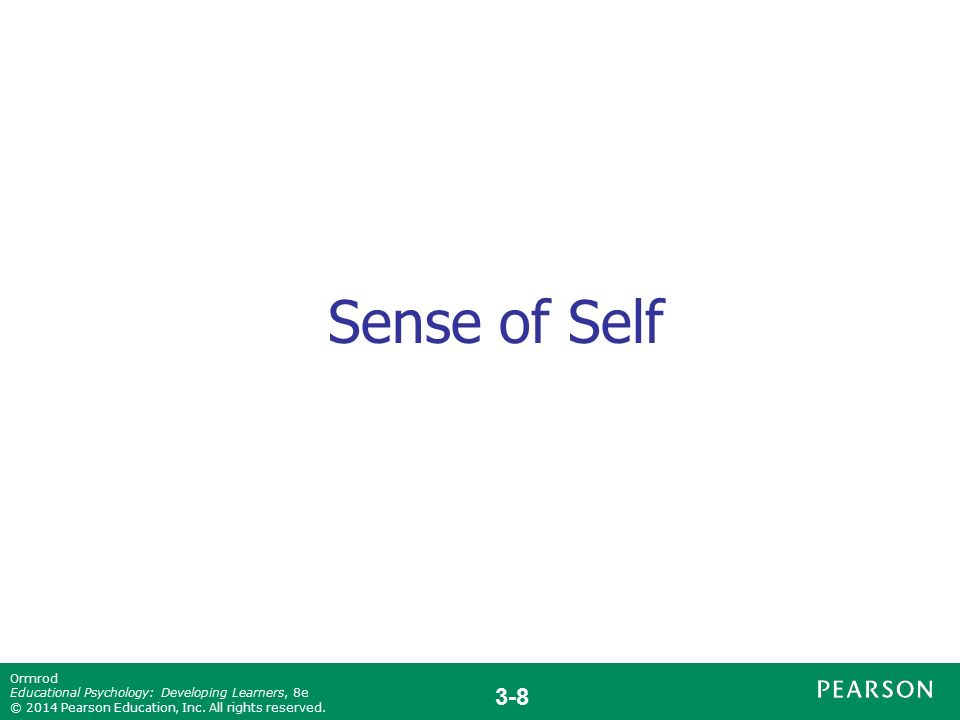 factors that influences one s sense of self Factors that affect self-concept  feels positive about expanded sense of self  identity is the organizing principle of the self 2 the awareness that one is .