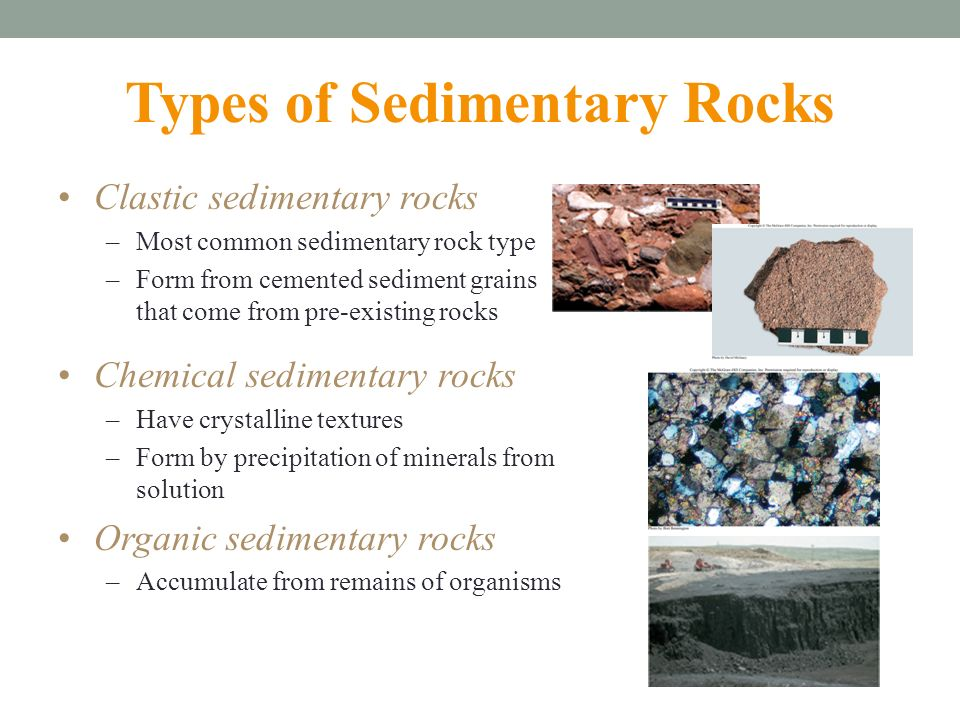 Sediment and Sedimentary Rocks Formation and Characteristics - ppt ...