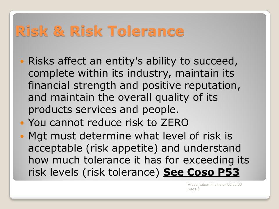 Risk Assessment.
