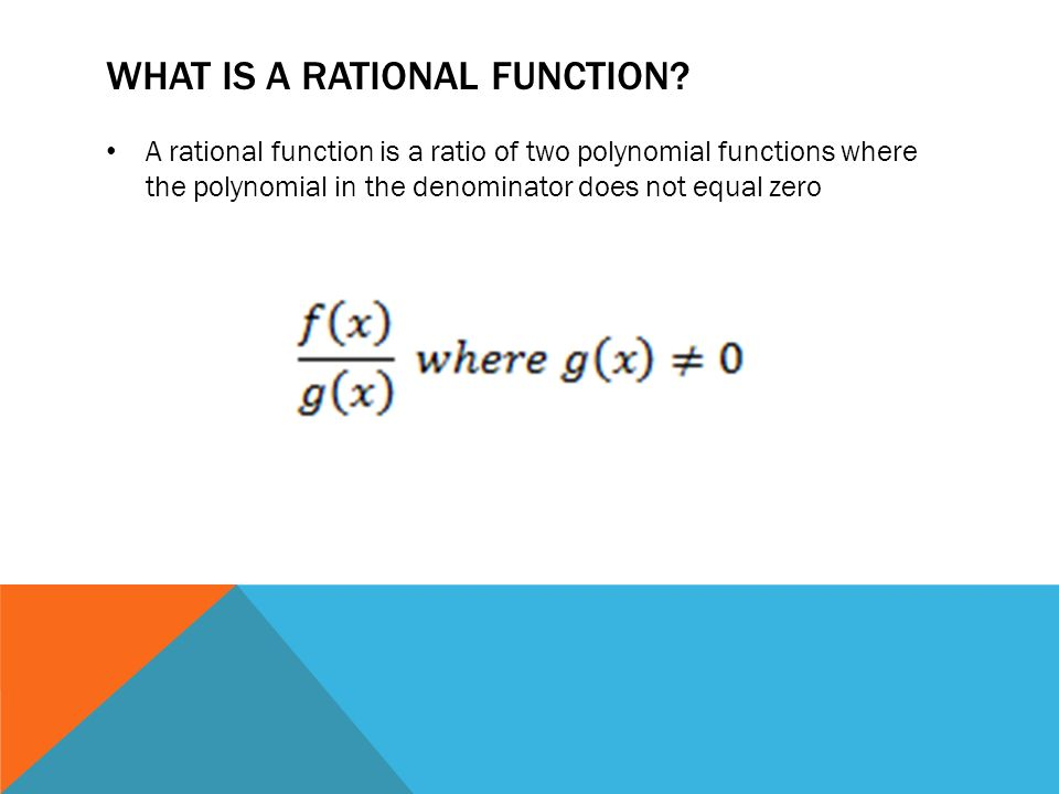 how to find points of discontinuity for a rational function