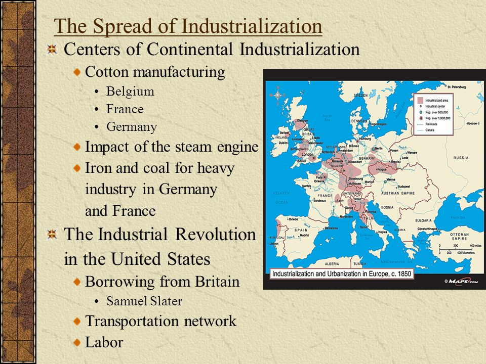 the influence of industrial revolution in the united states on the society The industrial revolution was the time where the world shifted from the old manual laboring ways of the past, to the new factory and machinery age we live in today people went from working somewhere like this.