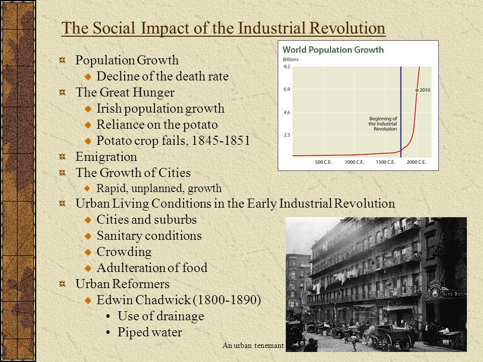 the industrial revolution and its impact The industrial revolution and its impact on european society origins agricultural revolution capital for investment mineral resources government favorable to business.