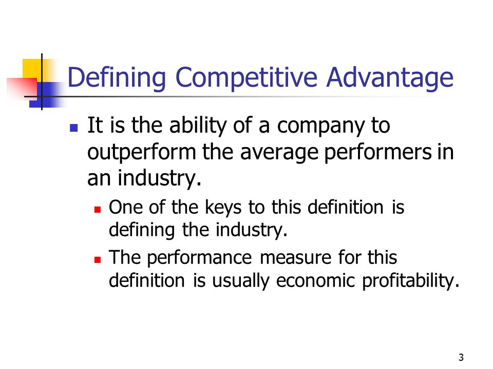 advantages of economic competition Keywords first mover advantages industry life cycle competitive  we fear  the economic turmoil may end up shifting the sources of advantages and  shuffling.