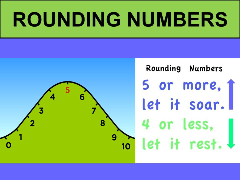 Image result for images of rounding