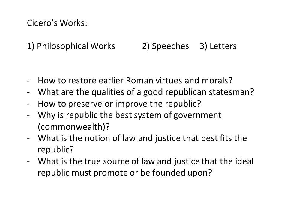 what qualities should an ideal statesman Jonathan zarecki, cicero's ideal statesman in theory and practice  and to  which, most recently, one should add monographs by baraz and  reiterating  the principal qualities of the rector-ideal, zarecki argues, cicero.