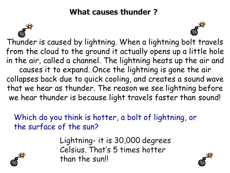 how to know how far lightning is from you