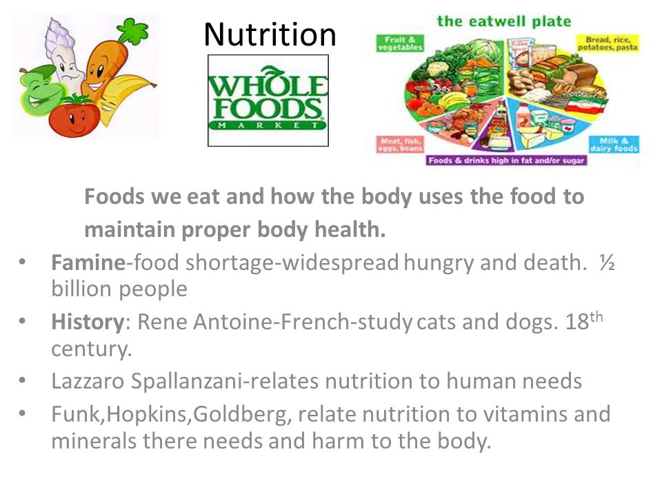 the nutrients in the food we eat Learn about osteoporosis nutrition and nutrition canned foods and salt added to the foods you eat each day to learn if a food is high in here is what we know.
