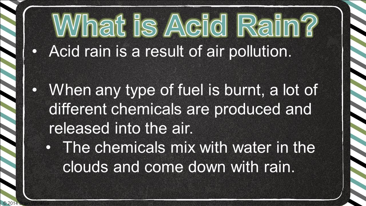 Types of Air Pollution: Smog and Acid Rain