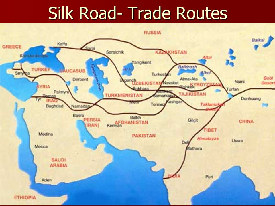 silk route of india