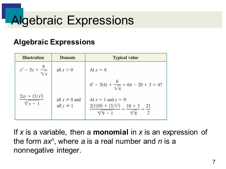 Fundamental Concepts of Algebra - ppt video online download