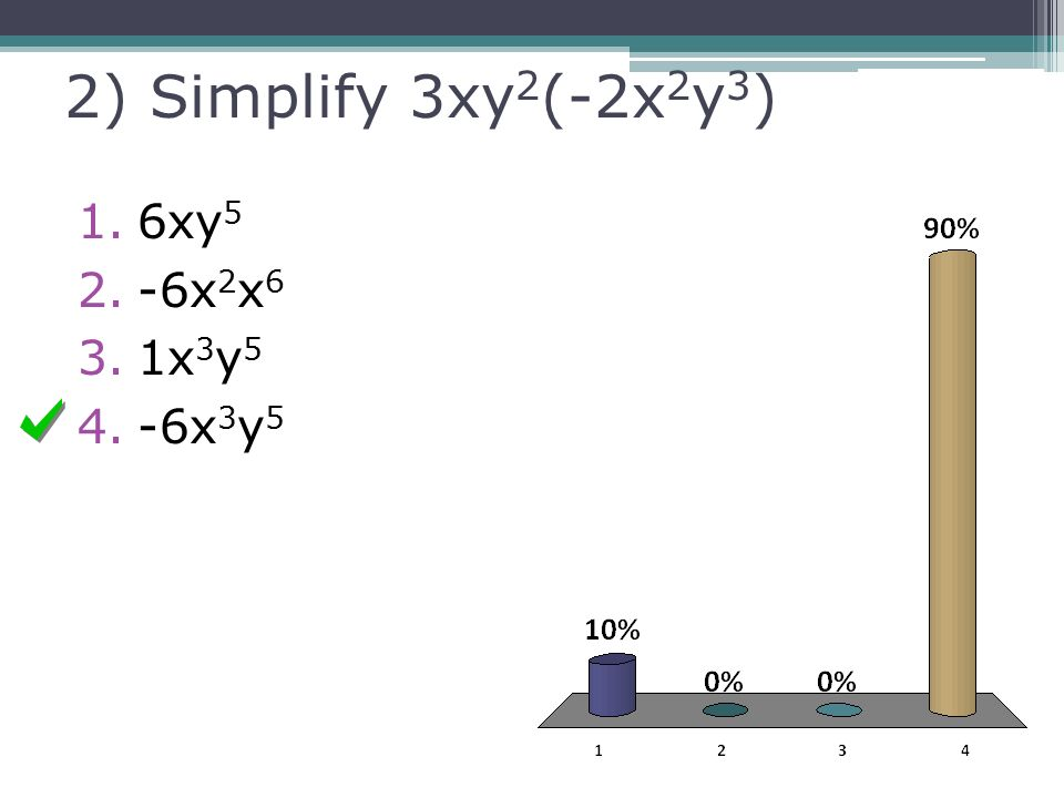 7-1: Multiplication Properties of Exponents - ppt video ...