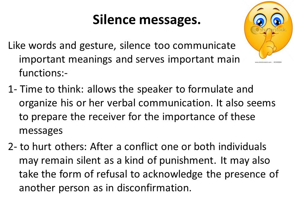 Nonverbal communication messages - ppt video online download