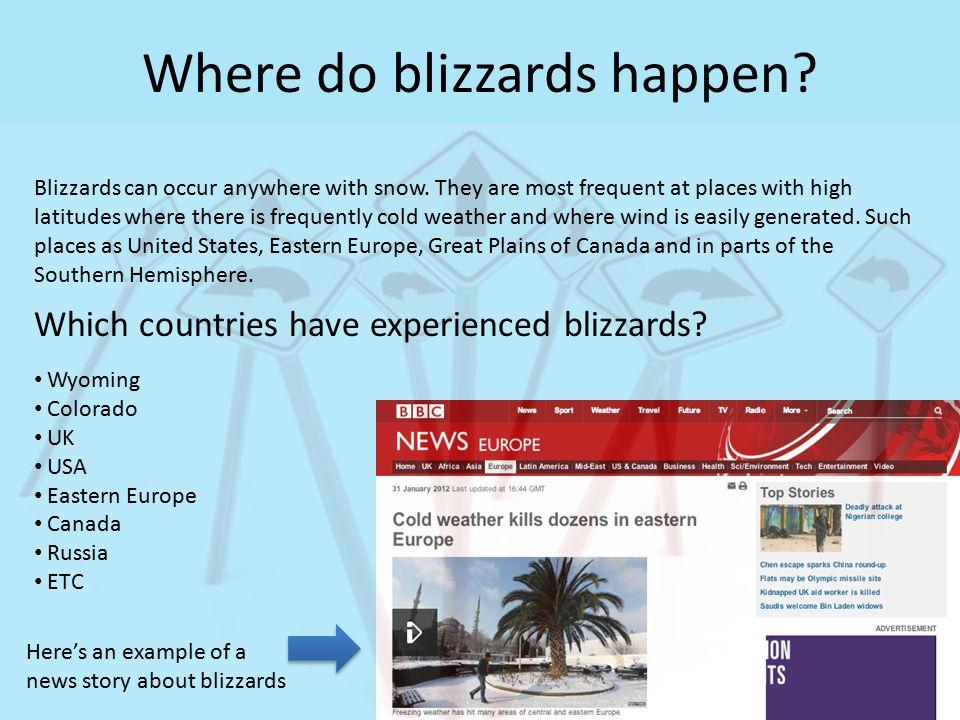 BLIZZARD. - ppt video online download