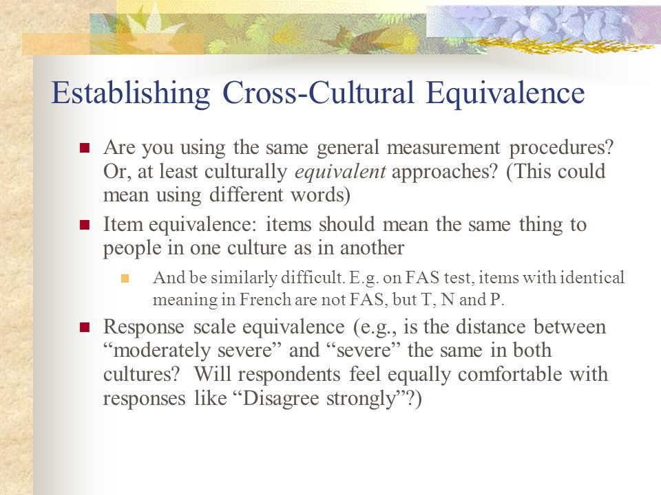cross cultural translation Some judicial officers/tribunal members use the umbrella term 'cross-cultural differences' to refer to translation difficulties involving lack of direct equivalents at the word and sentence levels.