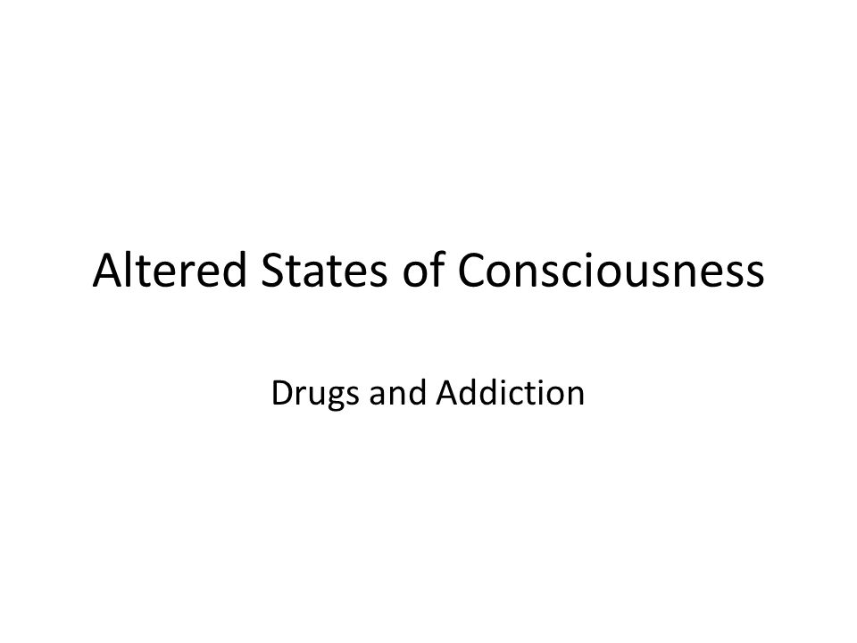 altered states of conciousness What are altered states of consciousness definition: various states in which the mind can be aware but is not in its usual wakeful condition form of consciousness in which a persons sense of self or sense of the world changes.