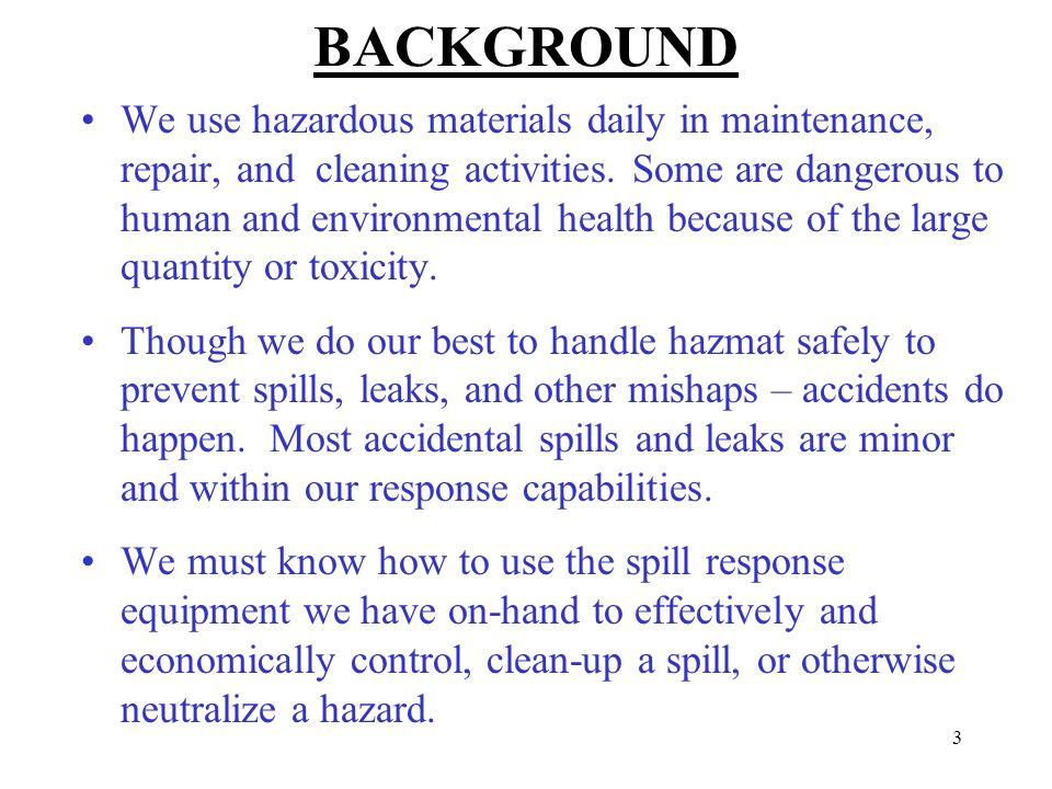 Hazardous Material Business Plan