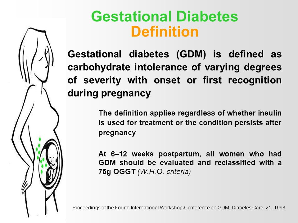 Associated Conditions and Diabetes PREGNANCY - ppt download