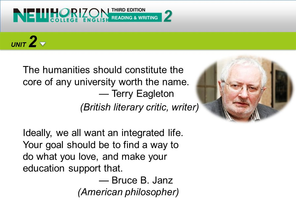 The humanities should constitute the core of any university worth the name.