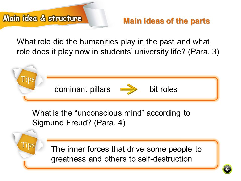 What is the unconscious mind according to Sigmund Freud (Para. 4)
