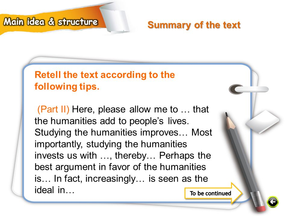 Retell the text according to the following tips.
