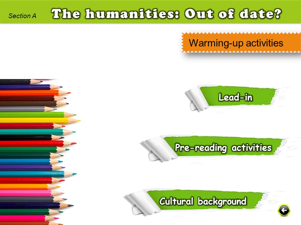 The humanities: Out of date