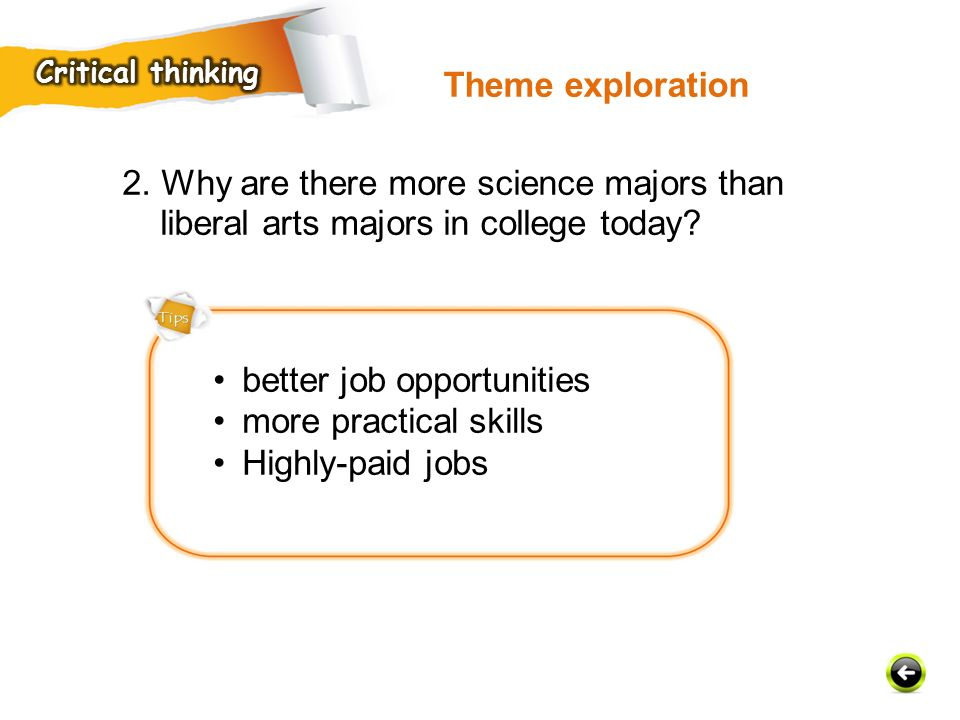 better job opportunities more practical skills Highly-paid jobs