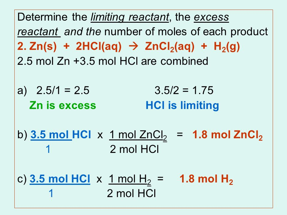 determine the reaction stoichiometry and the Chemistry notes – chapter 9 stoichiometry goals : to gain an understanding of : 1 stoichiometry 2 limiting reagents and percent yield notes:  atoms and mass are always conserved in chemical reactions  we can now determine how much ammonia will be produced using the mole ratio in the balanced equation : we can also.
