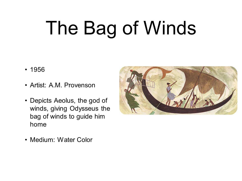 Aeolus Bag Of Wind The Odyssey Pai...