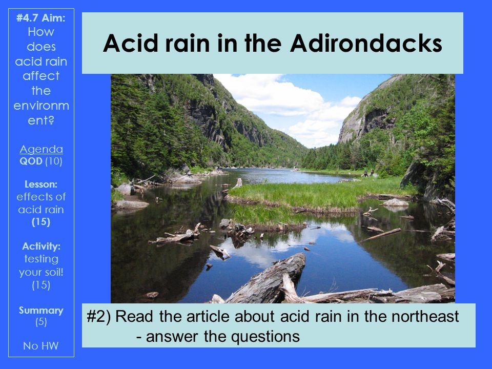 the detrimental effects of acid rain on the soil Educational resources the following links provide learning activities and science experiments related to acid rain through these activities, students will have the opportunity to get a first-hand look at the potential effects of acid rain.