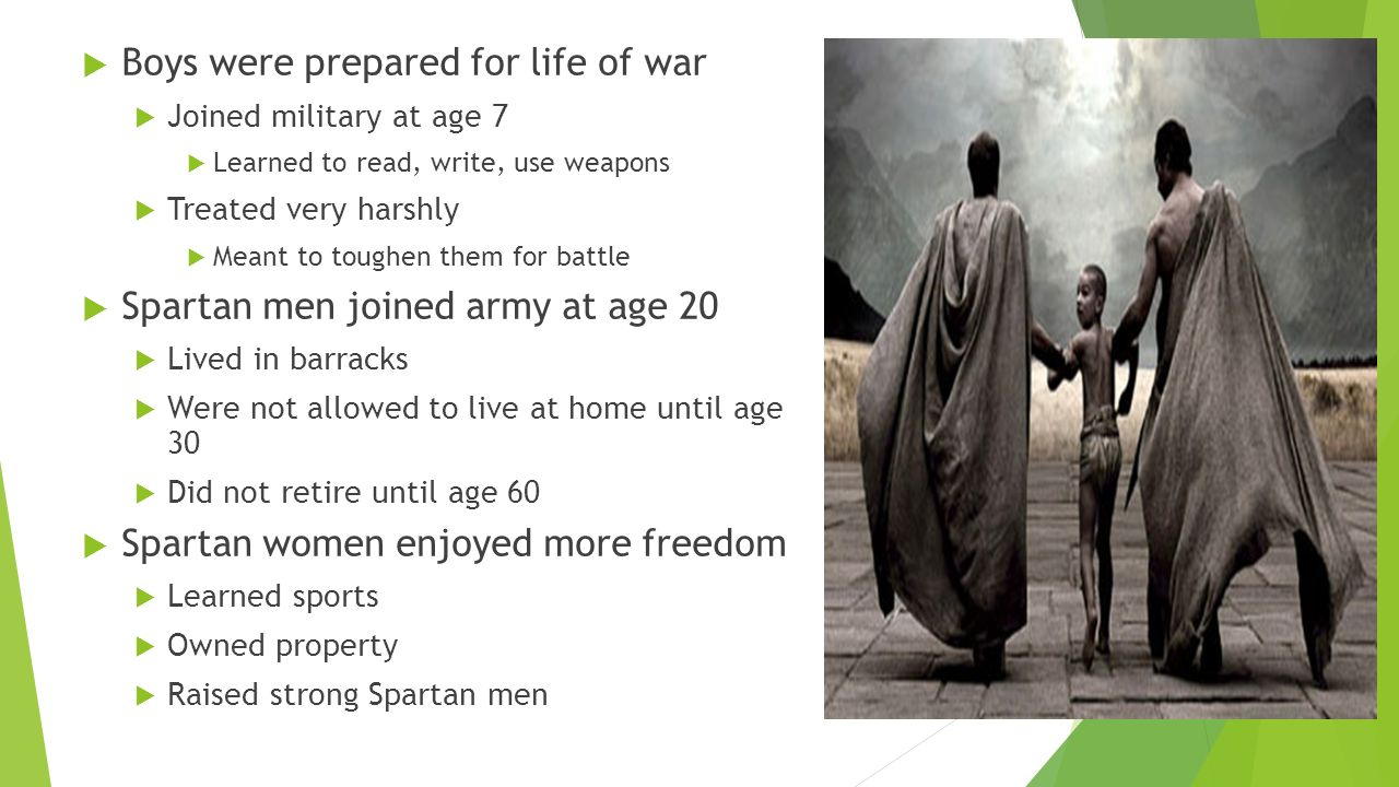 difference in spartas and athens boys Sparta and athens fought a long war, called the peloponnesian war, from  they  weren't allowed to be soldiers, but they did compete against the boys at sport.